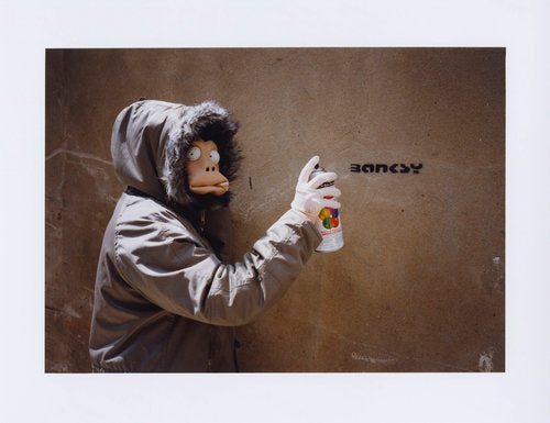 James Pfaff / Banksy Mask Session Tag - YOUANDART(ユーアンドアート)