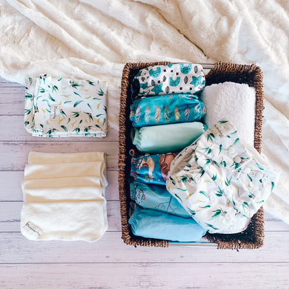 Swimming Nappies. My Little Gumnut. Swim Nappy. Reusable Nappy. Cloth Nappy. Modern Cloth Nappy. Australian brand nappies. Value Package nappies.