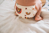 REDUCED Modern Cloth Nappy - Rainbow (Earth Tones)
