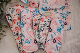 Reusable Cloth Menstrual Pads - 5 Pack with Wet Bag