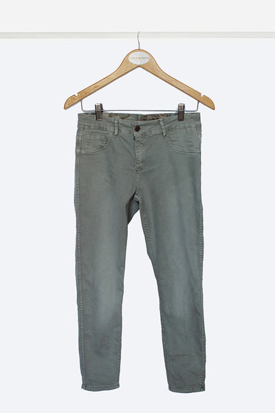 Olive Reversible Jeans