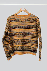 Yellow Ethnic Jumper