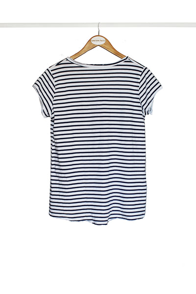 Navy Nautical Star Tee