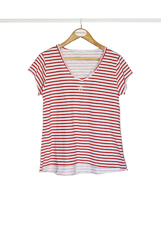 Red Nautical Star Tee