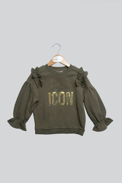 Olive Icon Top