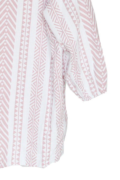 Blush Aztec Top