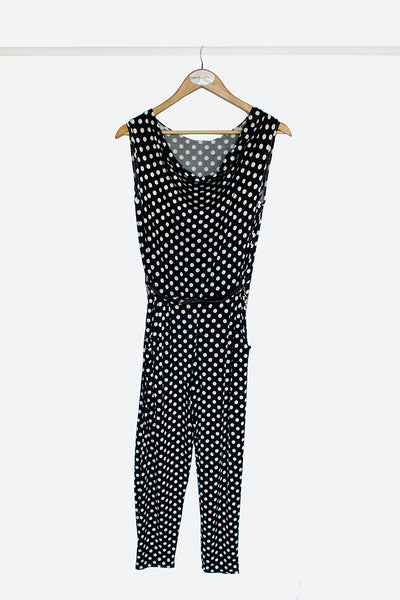 Dotty Slinky Jumpsuit