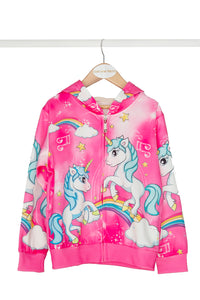 Cerise Unicorn Jacket