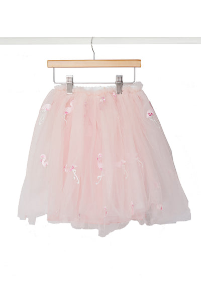 Pink Flamingo Skirt