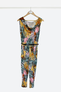 Multicoloured Slinky Jumpsuit