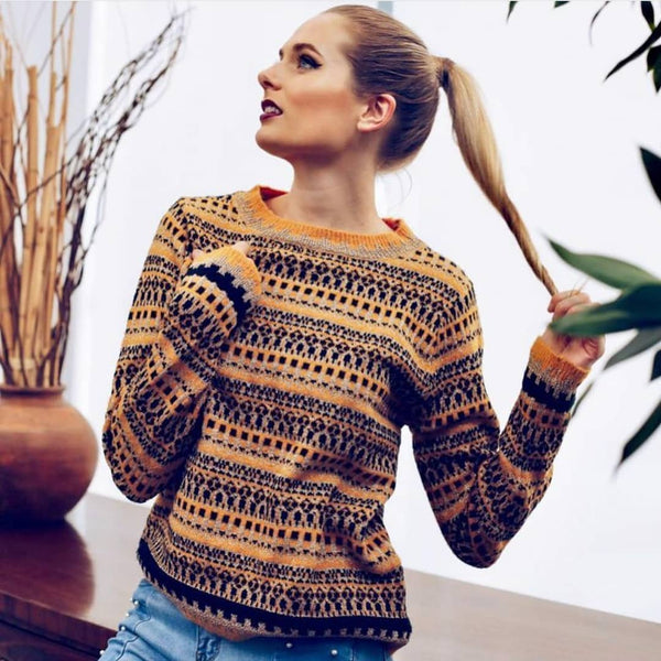 Cream Ethnic Jumper