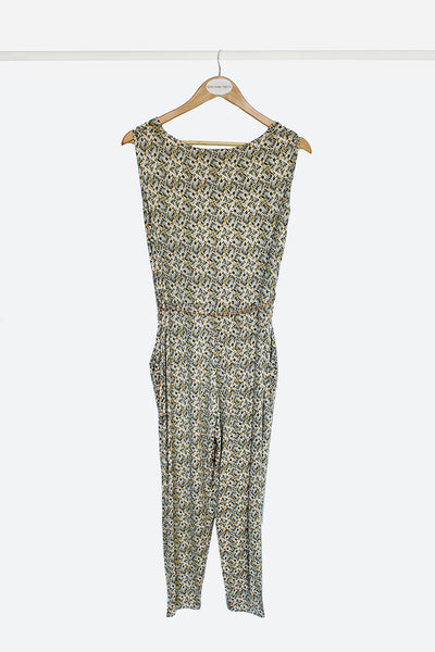 Yellow Slinky Jumpsuit