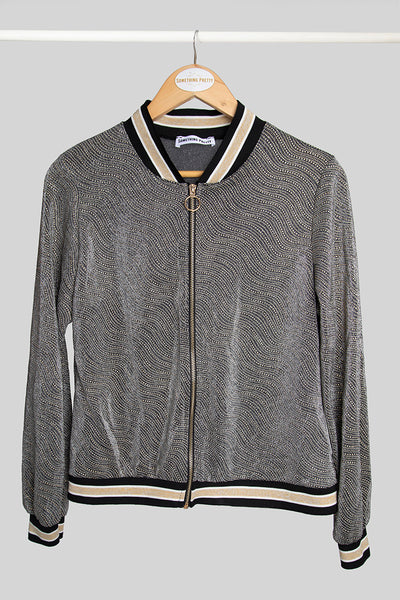 Gold Party Bomber Jacket