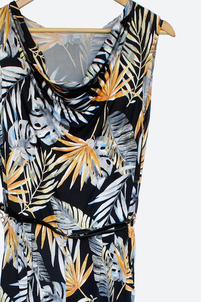 Tropical Slinky Jumpsuit