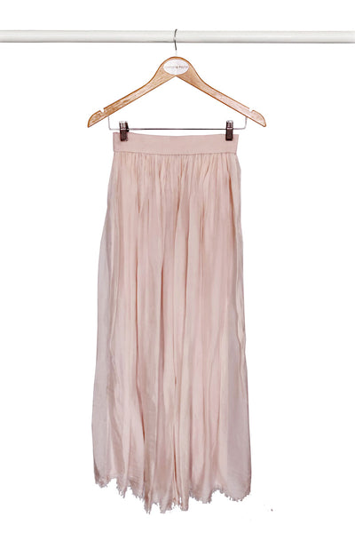 Blush Fringe Skirt