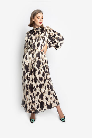 Leopard Algria Dress
