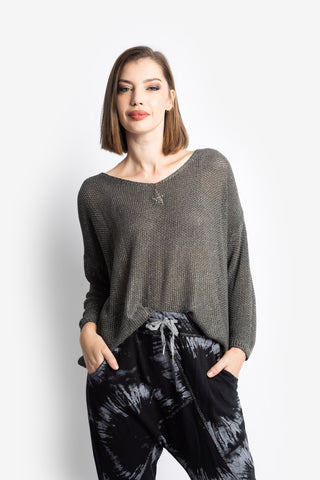 Star Lurex Knit