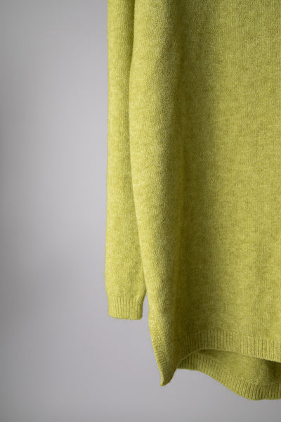 Lime Basic Jumper
