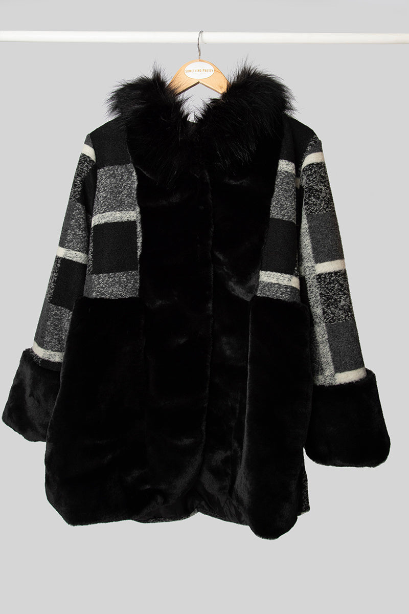 Cruella Faux Fur Coat