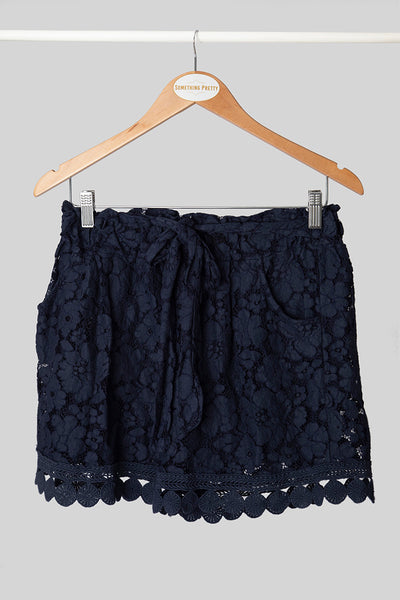 Ink Lace Shorts