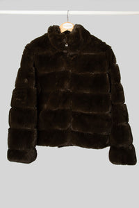 Olive Faux Fur Jacket