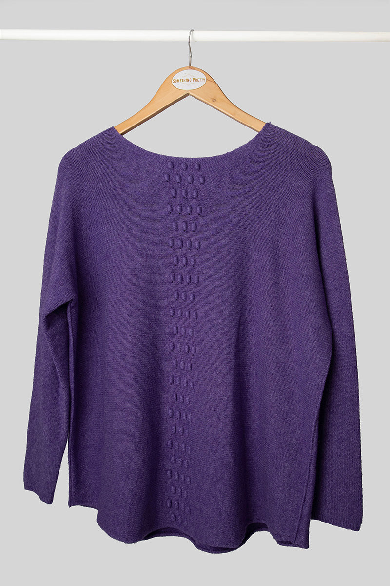 Purple Tina Jumper