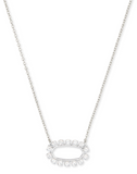 Elisa Open Frame Necklace