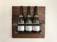 Load image into Gallery viewer, Wine Rack - 3 Bottles