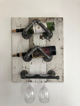 Load image into Gallery viewer, Wine Rack - Reclaimed Barn Wood
