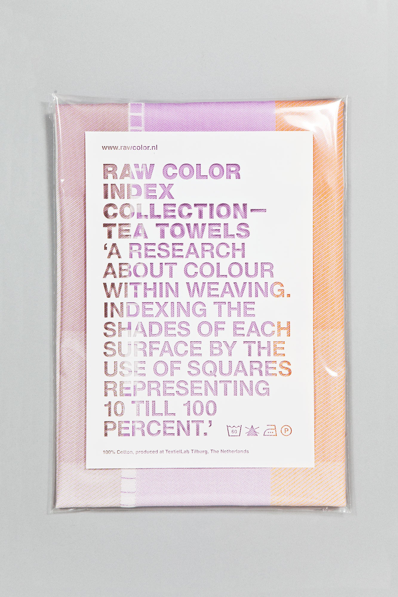 Index Collection – Tea Towel – Beige Duotone