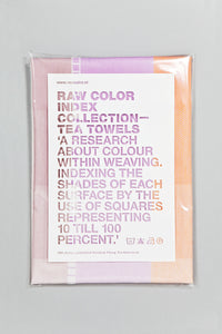 Index Collection – Tea Towel – Beige Multitone