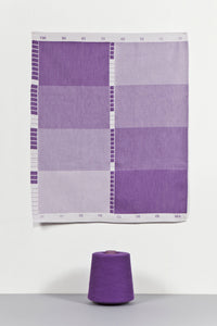 Index Collection – Tea Towel – Purple Monotone