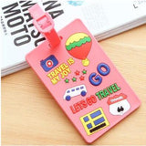 Cute Portable Creative Eyes Luggage Tags