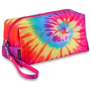 Top Trenz Puffer Cosmetic Bright Tie Dye
