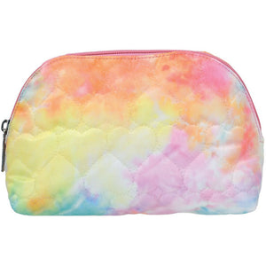 Cotton Candy Oval Cosmetic Bag