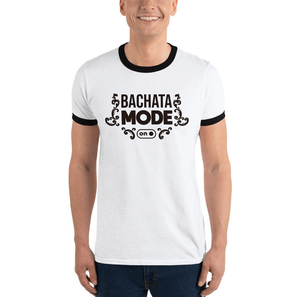 BACHATA MODE ON / Ringer T-Shirt