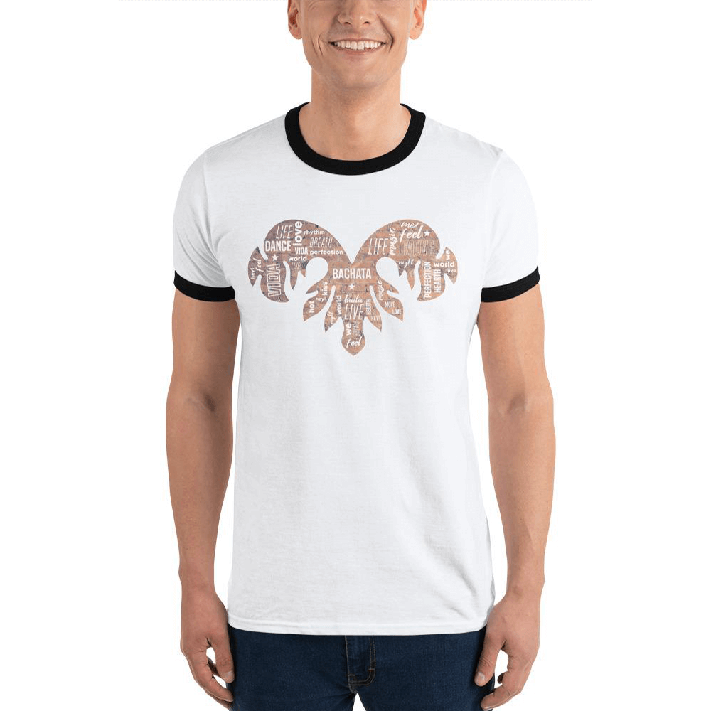 BACHATA TRIBAL MIXED / Ringer T-Shirt