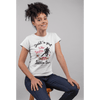 JUST A GIRL LATIN DANCE / Fashion Fit T-Shirt