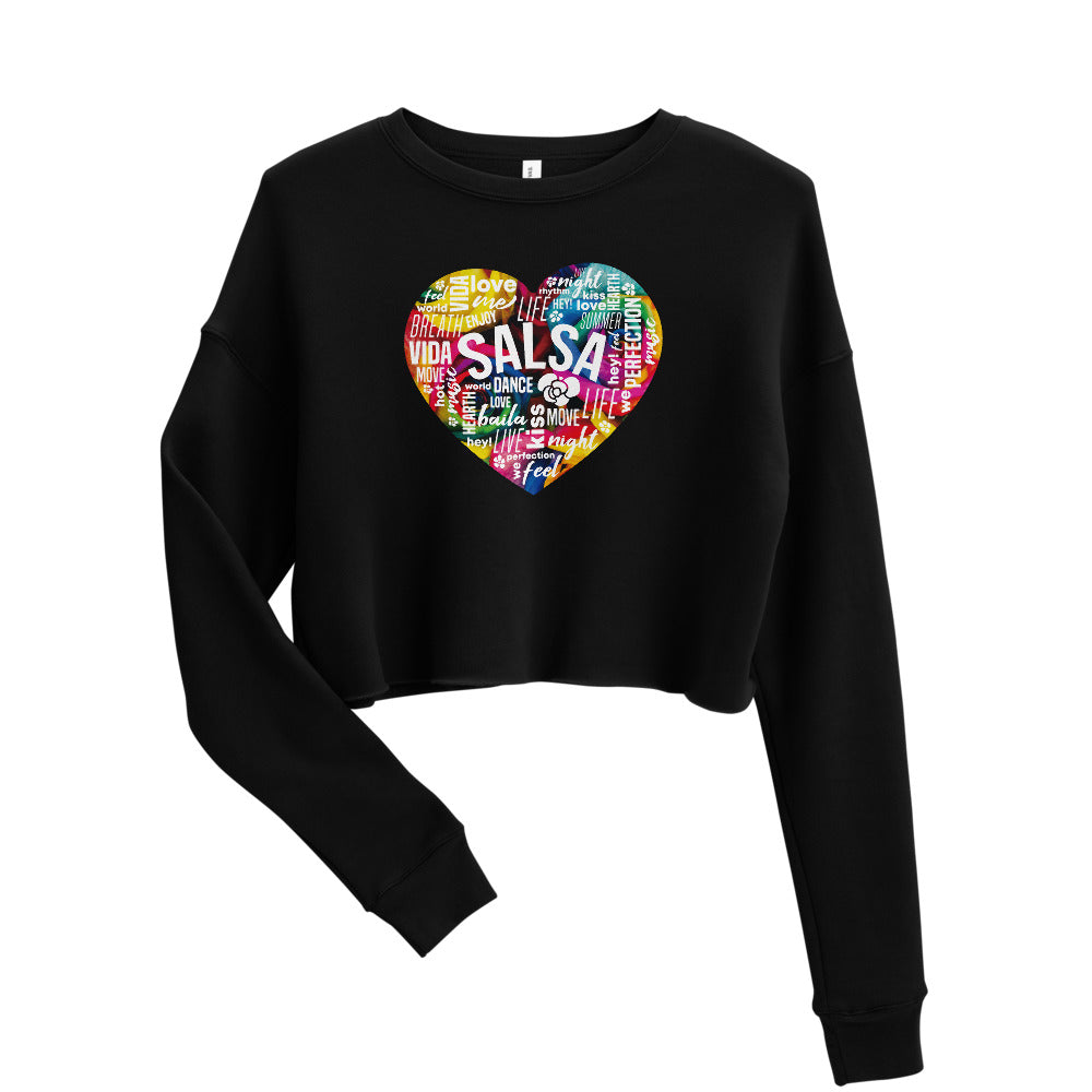 SALSA FEELINGS / Crop Sweatshirt
