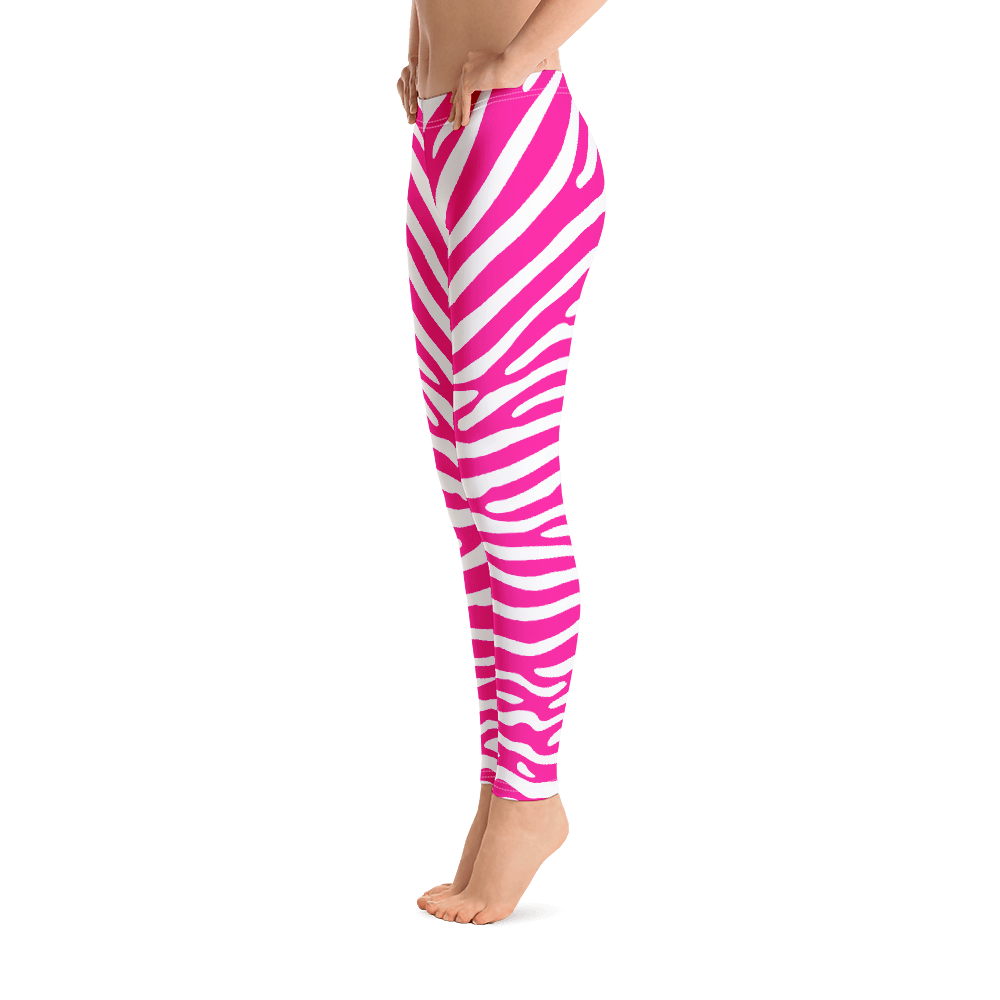 ANIMAL PRINT ZEBRA MAGENTA / Legging all-over Print