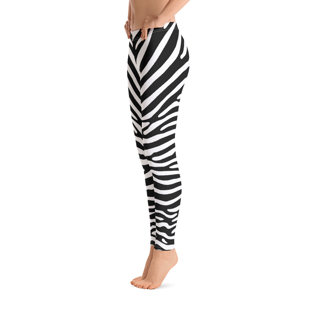 ANIMAL PRINT ZEBRA NEGRA / Legging all-over Print