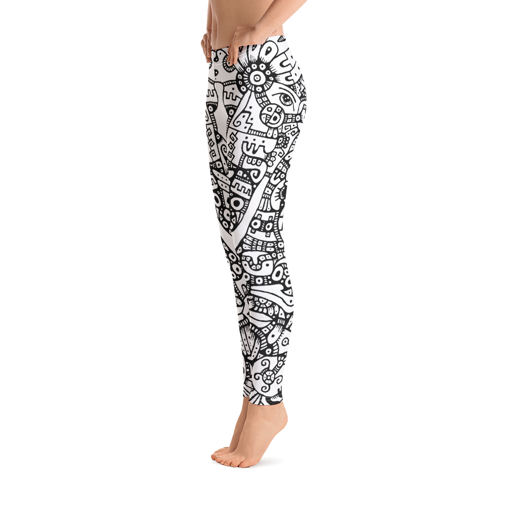 CARIBBEAN PREHISPANIC / Legging all-over Print
