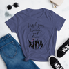 FORGET YOUR TROUBLES AND DANCE / Fashion Fit T-Shirt