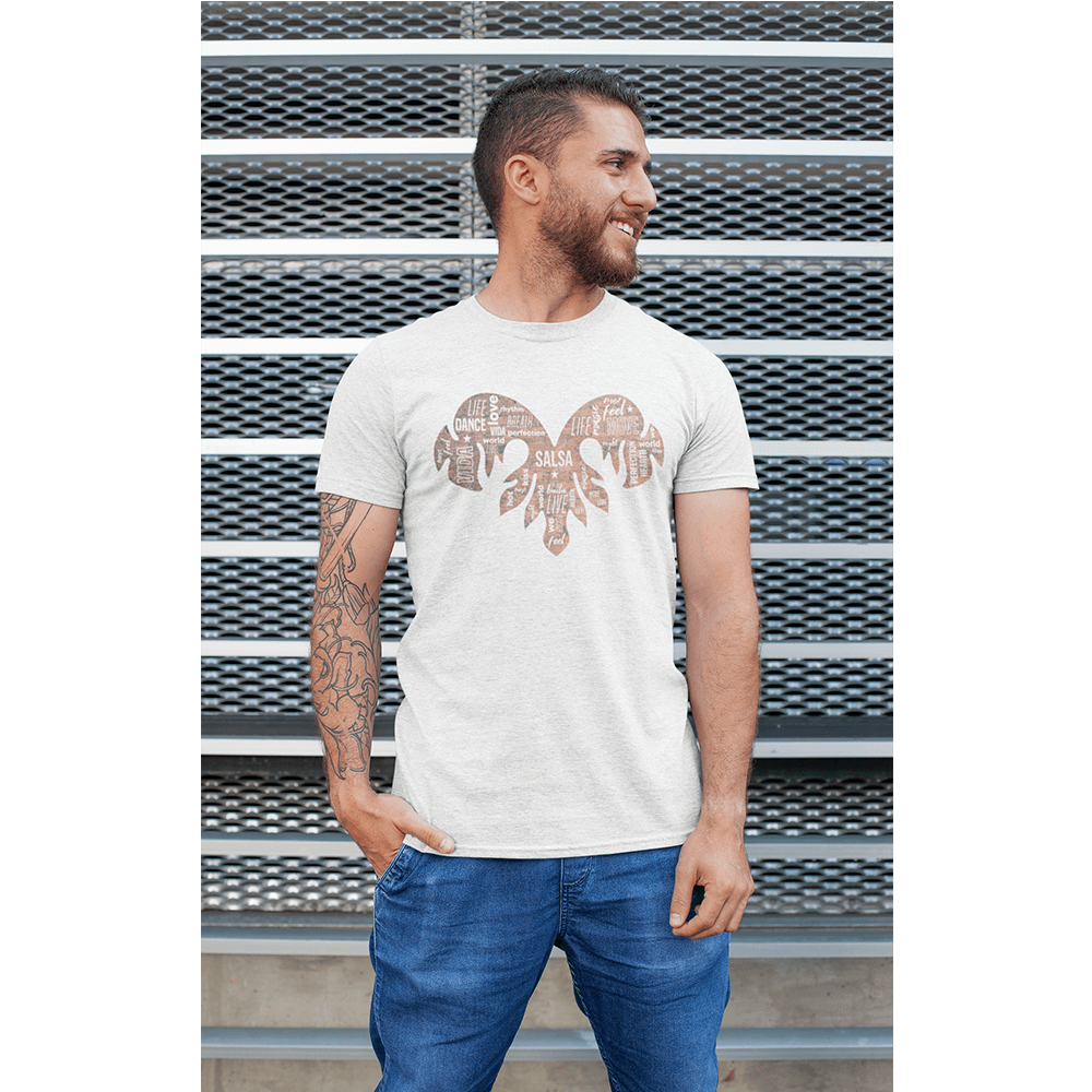 SALSA TRIBAL MIXED / Tri-Blend T-Shirt