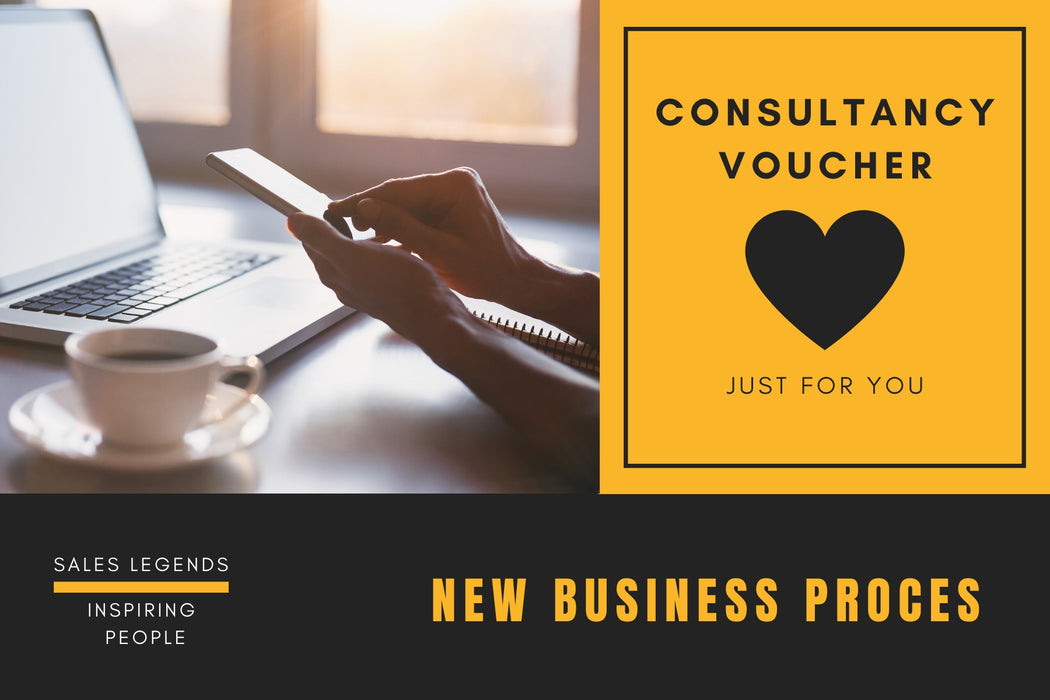 New business proces - Consultancy voucher - salesstyle