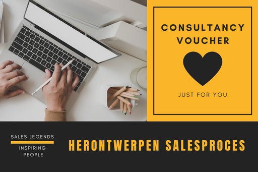Herontwerpen salesproces - Consultancy voucher - salesstyle