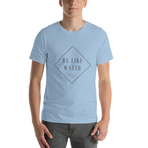 "T-Shirt ""be like water"" - salesstyle"