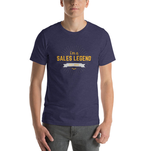 "T-Shirt ""i'm a sales legend"" - salesstyle"