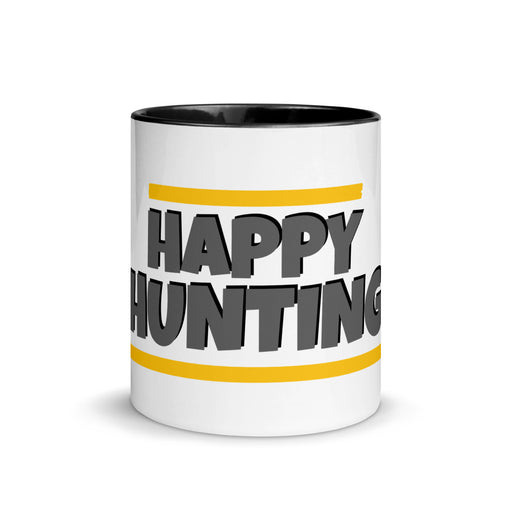 "Motivatie mok ""Happy hunting"" - salesstyle"
