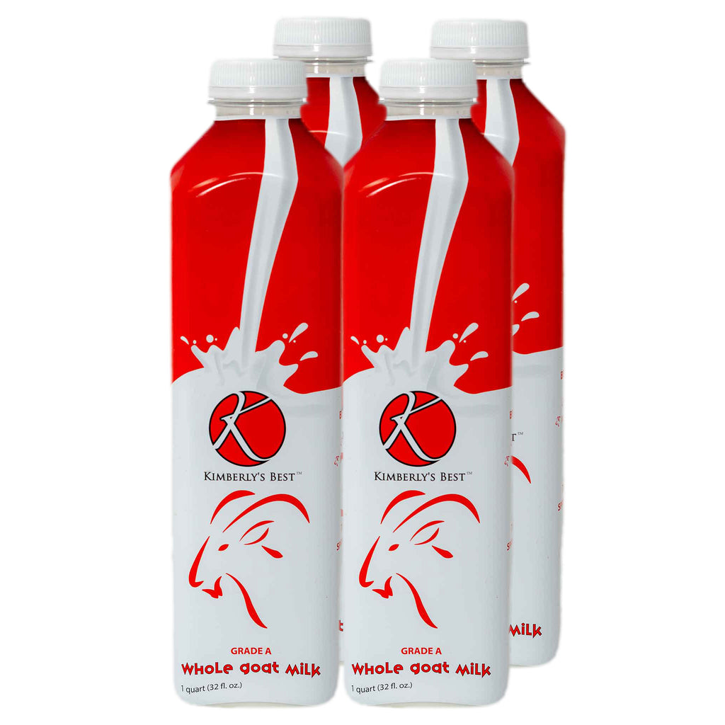 4 Count Whole Goat Milk